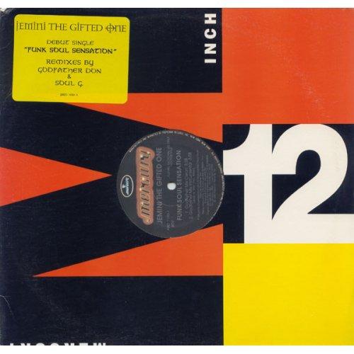 "Jemini The Gifted One - Funk Soul Sensation (Remixes), 12"", Promo"