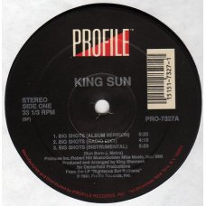 King Sun - Big Shots, 12""
