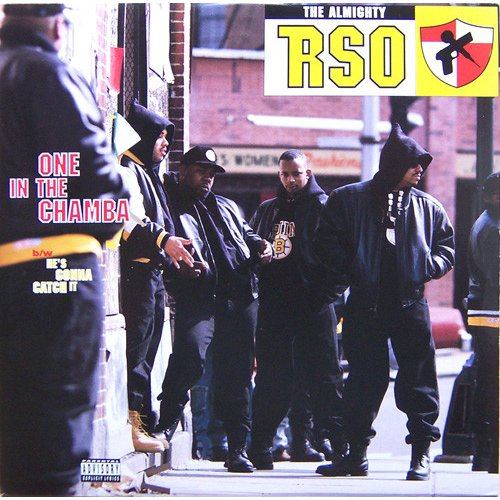 """The Almighty RSO - One In The Chamba / He's Gonna Catch It, 12"""", Promo"""