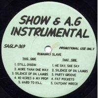 Show & A.G - Runaway Slave (Instrumentals), LP