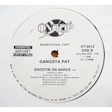 "Gangsta Pat - I'm Tha Gangsta / Shootin' On Narcs, 12"", Promo"