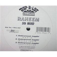 "Raheem - 5th Ward / Underground Jugglin', 12"""
