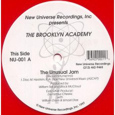 Brooklyn Academy - The Unusual Jam / Blind Fury (The Tempest), 12""
