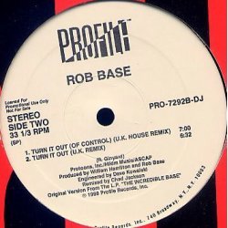 """Rob Base - Get Up And Have A Good Time / Turn It Out, 12"""", Promo"""