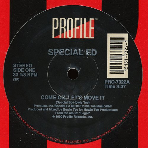 """Special Ed - Come On, Let's Move It, 12"""""""