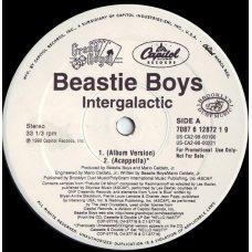 "Beastie Boys - Intergalactic, 12"", Promo"