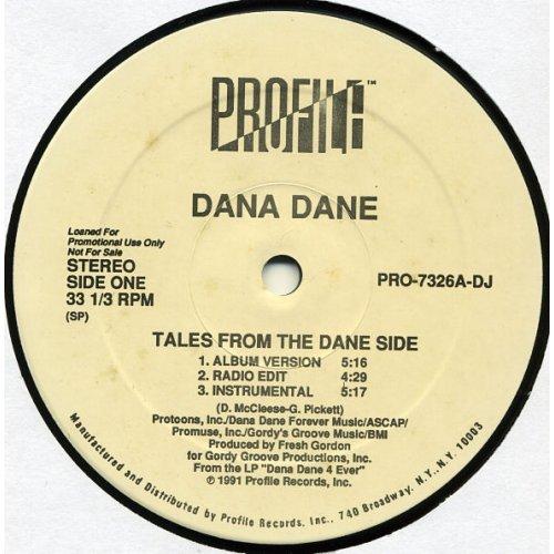 "Dana Dane - Tales From The Dane Side, 12"", Promo"