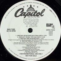 "King Tee - Bus Dat Ass / Tha Great, 12"", Promo"