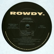 "Jamal - Keep It Real / Unf***wittable, 12"", Promo"