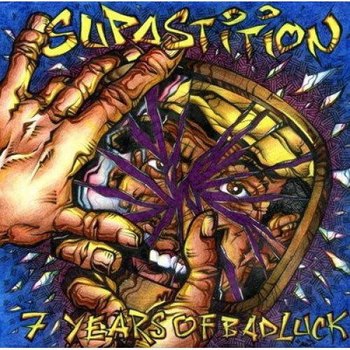 """Supastition - 7 Years Of Bad Luck, 12"""", EP"""