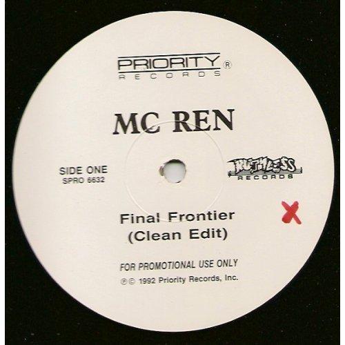 """MC Ren - The Final Frontier, 12"""", Promo"""