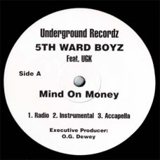 "5th Ward Boyz - Recognize The Mob, 12"", Sampler"