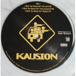 "Kausion - What You Wanna Do? / Bounce, Rock, Skate, 12"""