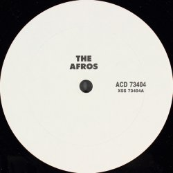 """The Afros - Feel It, 12"""", Promo"""