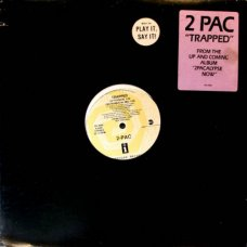 """2Pac - Trapped, 12"""", Promo"""