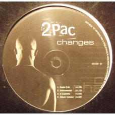 """2Pac - Changes, 12"""", Promo"""