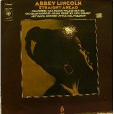 Abbey Lincoln - Straight Ahead, LP, Reissue