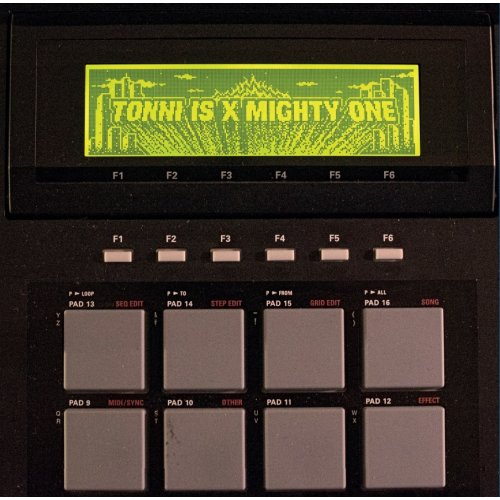 "Tonni Is x Mighty One - Tonni Is x Mighty One, 12"", EP (Farvet vinyl)"