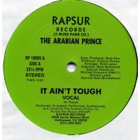 The Arabian Prince - It Ain't Tough, 12""