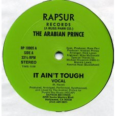 "The Arabian Prince - It Ain't Tough, 12"""