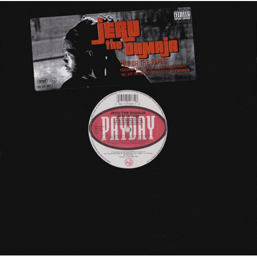Jeru The Damaja - Me Or The Papes, 12""
