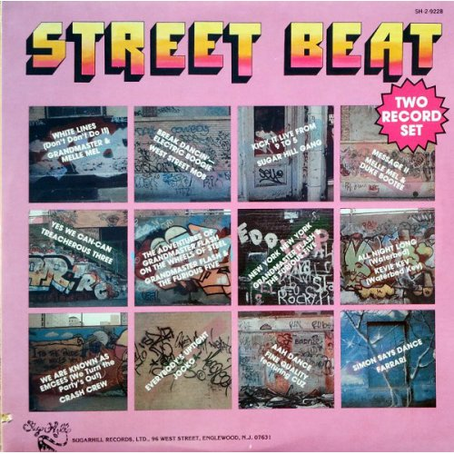 Various - Street Beat, 2xLP