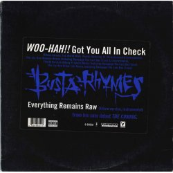 Busta Rhymes - Woo-Hah!! Got You All In Check, 12""