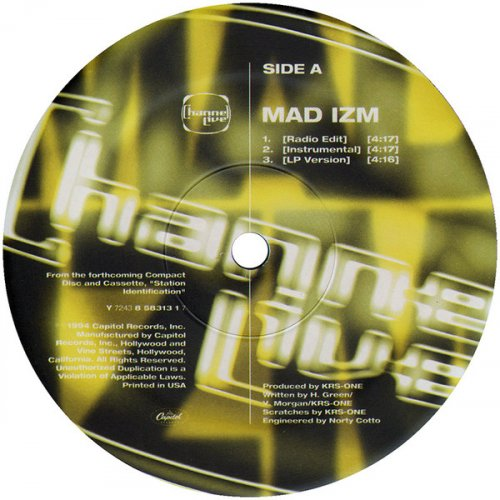 Channel Live - Mad Izm / Reprogram, 12""