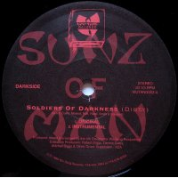 Sunz Of Man - Soldiers Of Darkness / Five Arch Angels, 12""