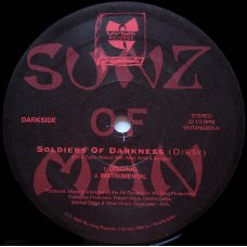 """Sunz Of Man - Soldiers Of Darkness / Five Arch Angels, 12"""""""