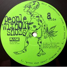 People Without Shoes - Green Shoe Laces, 12""