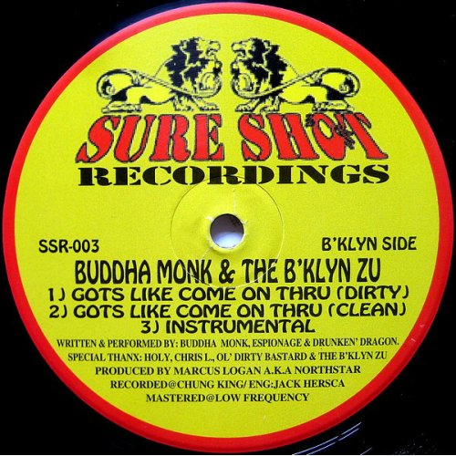 Buddha Monk - Gots Like Come On Thru / Nightmare On Zu Street, 12""