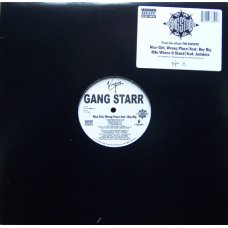 Gang Starr - Nice Girl, Wrong Place / Rite Where U Stand, 12""