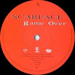 """Scarface - Game Over, 12"""", Promo"""