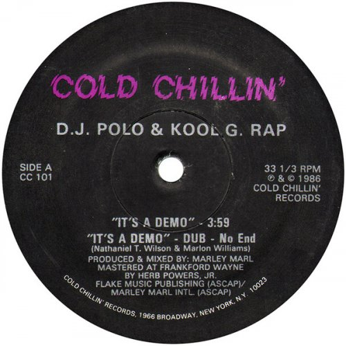 D.J. Polo & Kool G. Rap - It's A Demo / I'm Fly, 12""