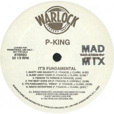 P-King - It's Fundamental, LP, Promo