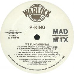 P-King - It's Fundamental, LP, Promo