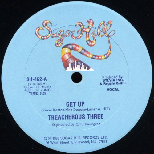 Treacherous Three - Get Up, 12""