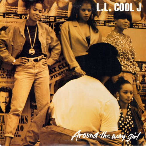 L.L. Cool J - Around The Way Girl, 12""