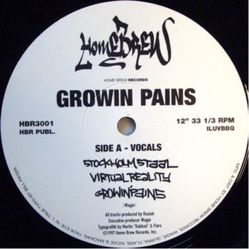"""Growin Pains - Stockholm Staal, 12"""""""