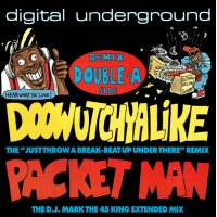 Digital Underground - Doowutchyalike (Remix) / Packet Man, 12""