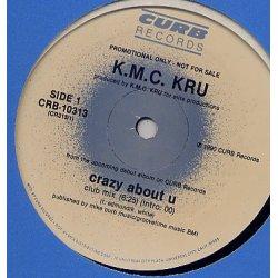 """K.M.C. Kru - Crazy About U, 12"""", Promo"""