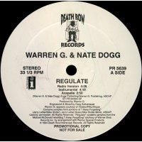"Warren G. & Nate Dogg - Regulate, 12"", Promo"