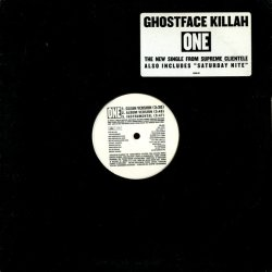 "Ghostface Killah - One / Saturday Nite, 12"", Promo"