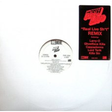 """Real Live - Real Live Sh*t (Remix), 12"""", Promo"""