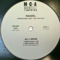 "Rahzel - All I Know, 12"", Promo"