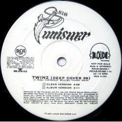 "Big Punisher - Twinz (Deep Cover '98), 12"", Promo"