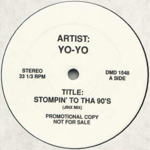 """Yo-Yo - Stompin' to Tha 90's / Dope Feminity, 12"""", Promo"""
