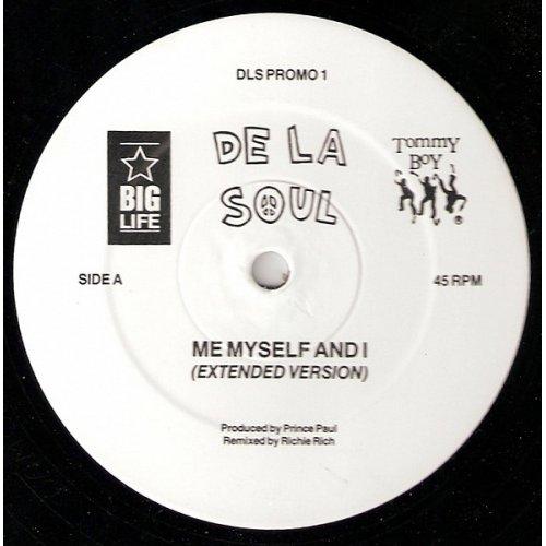 "De La Soul - Me Myself And I, 12"", Promo"