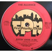 "The Alliance - Bustin' Loose, 12"", Promo"